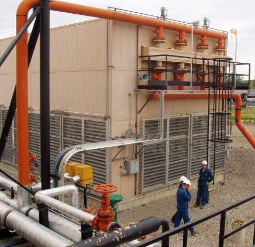 Industrial air-cooler
