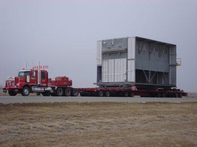 Transportation of an air-cooler
