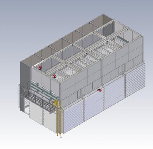 Air-cooler 3D image