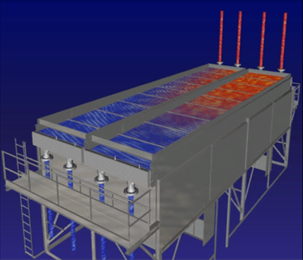 3D image of an air-cooler