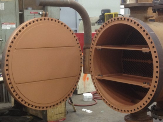 EIL anti-fouling coated unit for full scale test in 2013